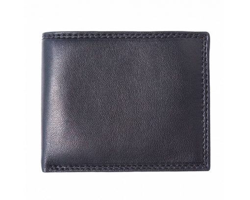 black wallet in real leather Maaijcke for man