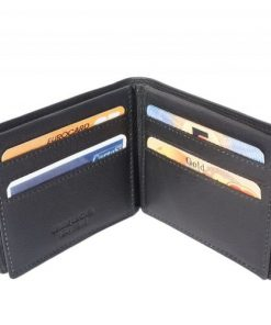 medium wallet ih soft genuine leather Publio colour black for women