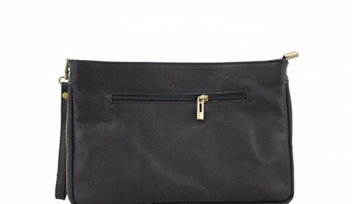 buy clutch Izusa in real leather sauvage for women