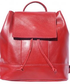 buy italian Backpack in soft genuine cow leather Rita Colour light red women