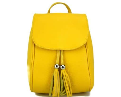 yellow backpack Franca for women