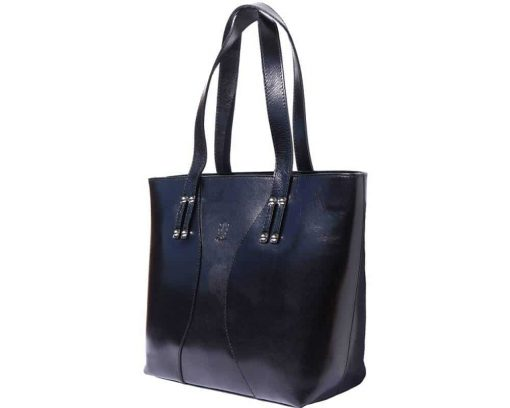 black handbags new models in real leather Maaline for woman