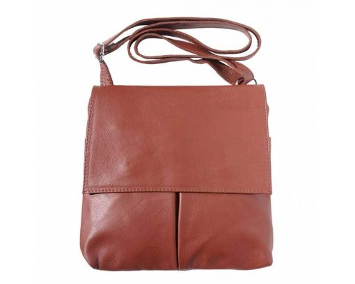 brown messenger for man