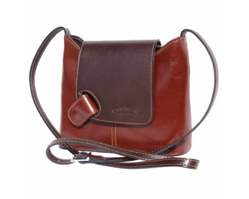 brown dark brown cross body bag Vasilica for women