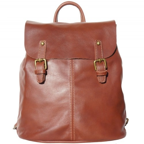Backpack in natural leather Elisa Colour brown for men