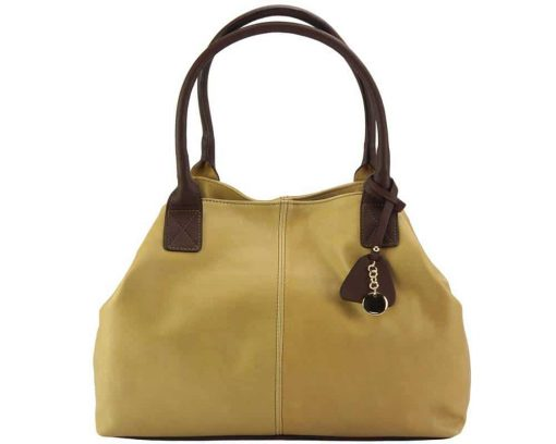 nice bag for woman in genuine leather from italy