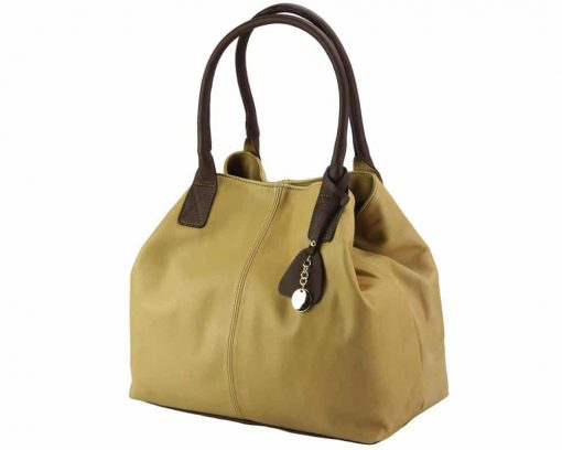 nice bag for woman in soft leather