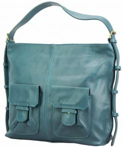 dark turquise shoulder bag from internet