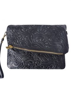 black small clutch sorina for woman