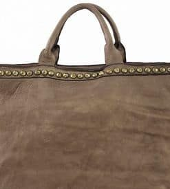 maxi brown fashion bag for shopping Sharon for women