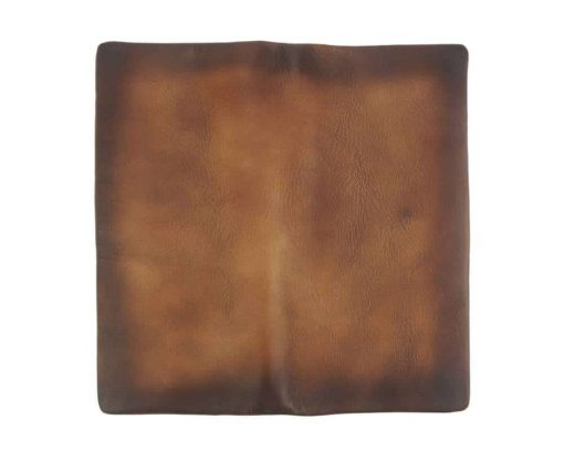 brown wallet in retro leather Monica unisex