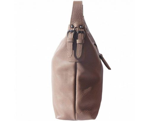 dark taupe bags in leather Veronica for women