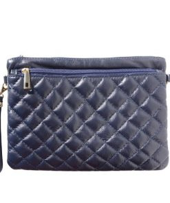 Wristlet Bruna Colour Dark blue women