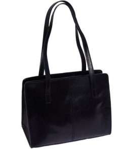 Business shoulder bag Olimpia Colour black for women