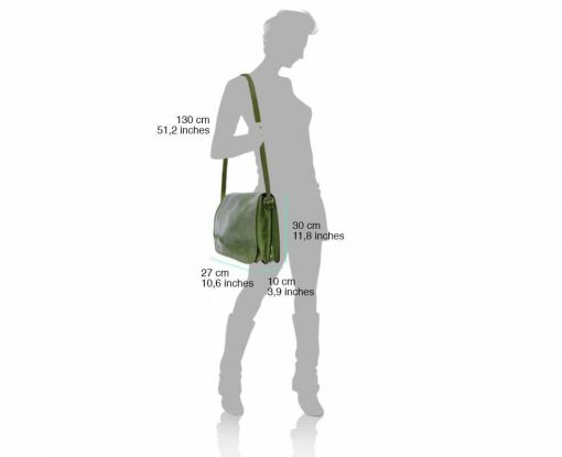 dark green briefcase Aurel man
