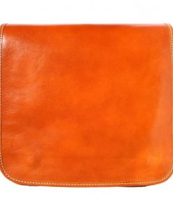 Messenger business bagbag in genuine cow leather Lamberto Colour tan for women