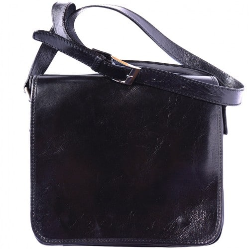 Messenger business bagbag in genuine cow leather Lamberto Colour Black for men