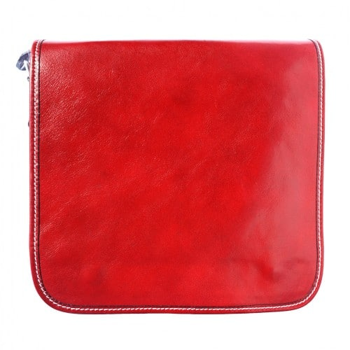 Messenger business bagbag in genuine cow leather Lamberto Colour light red for men