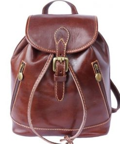 Backpack Davide in genuine leather Colour brown for men