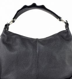 black shoulder bag Sibilla for women