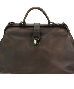 dark brown handbag Alcina women