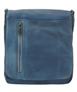 blue cross body flap bag Guicciardo man