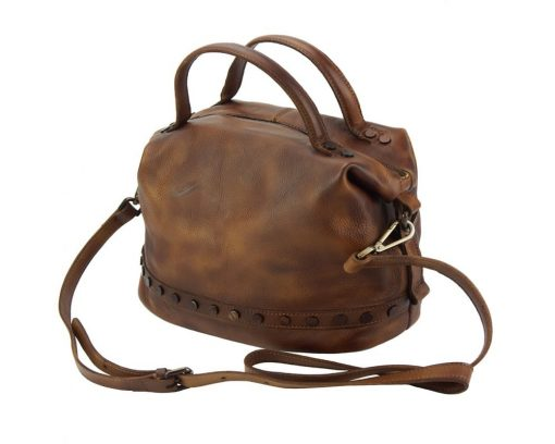 dark brown handbag Melina women