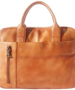buy italian retro Vintage porte documents of genuine leather Nicola Colour tan unisex