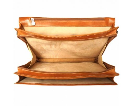 tan bag new model in leather Maalot for woman