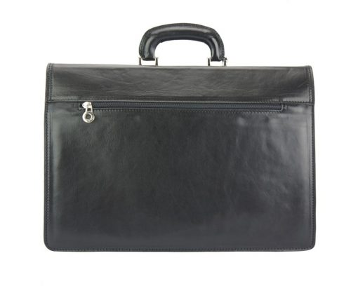 buy black briefcase in leather Lior man