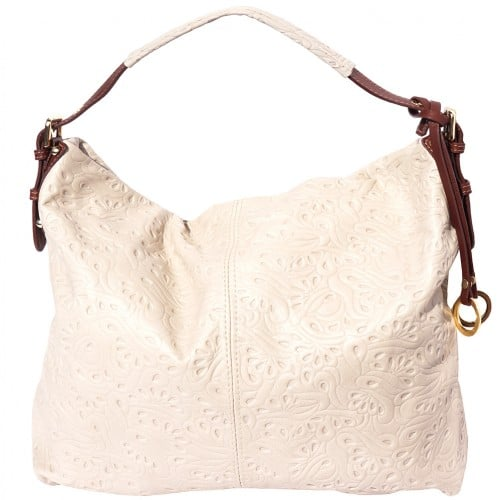 shoulder bag sunna in printed genuine leather colour pink brown for women
