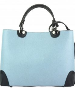 cyan black tote bag Ancilla woman