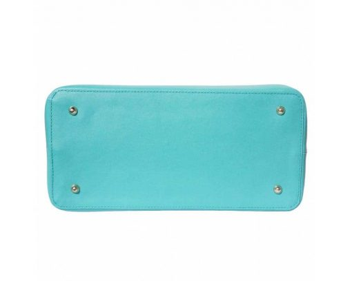 turquoise bag for woman from italy