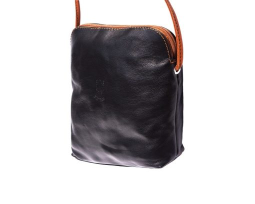 dark brown cross body bag Romanita for woman