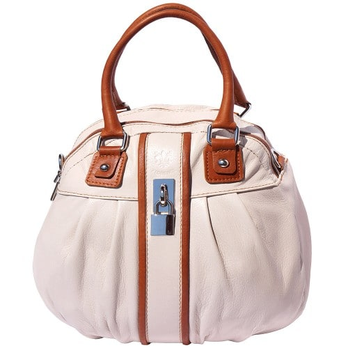Bag Clotilde with long strap Colour pink tan for women