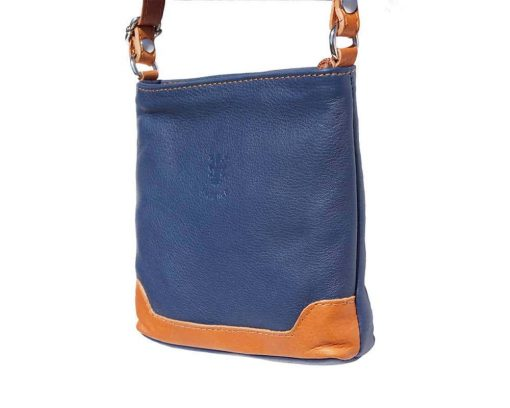 blue tan cross body bag Antoaneta for women