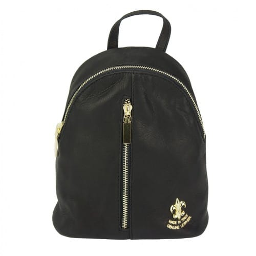 black backpack Elena women
