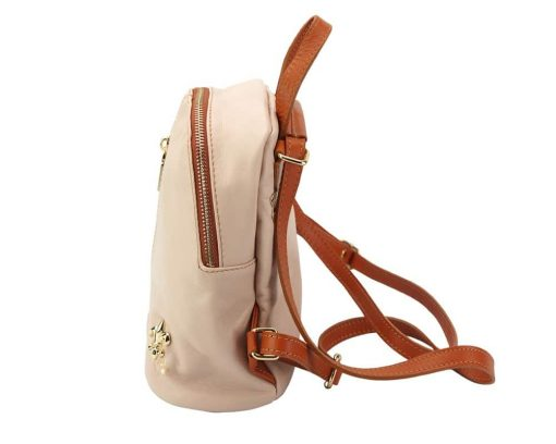 pink tan bag Nadia women