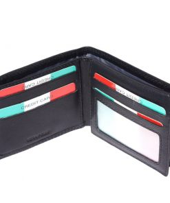 black wallet Sabin for men