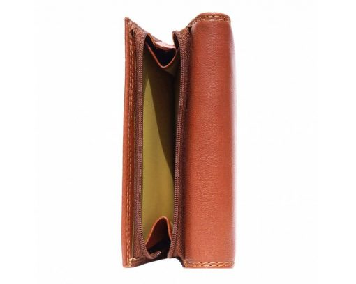 brown wallet Ofelia women