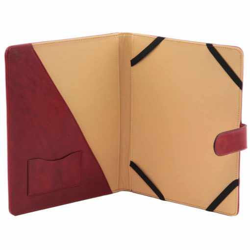 brown hard case for Ipad in leather Nem mans
