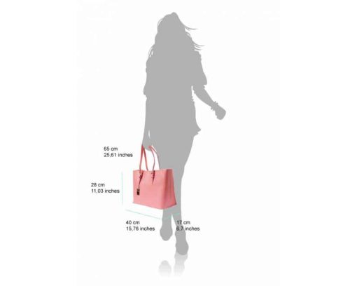 light red bag for woman