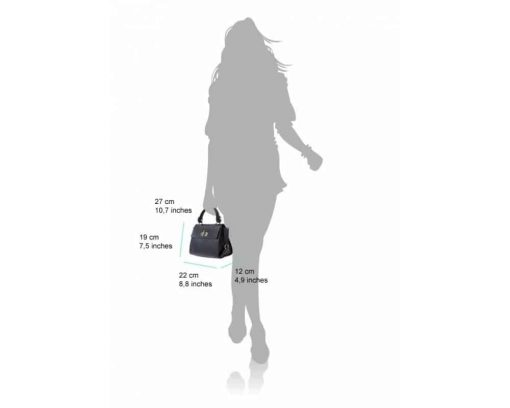 black handbag Augustina for women