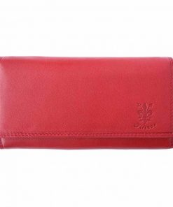 red wallet Georgeta for women