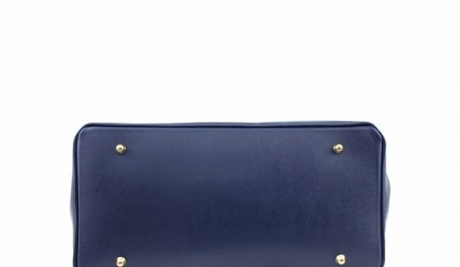 Bag Natalia from genuine leather colour blue photo buy from italy for women