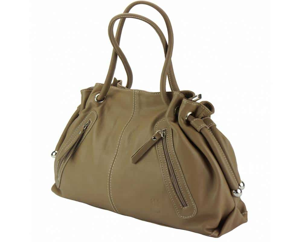 dark taupe shoulder bag Juliana from italy