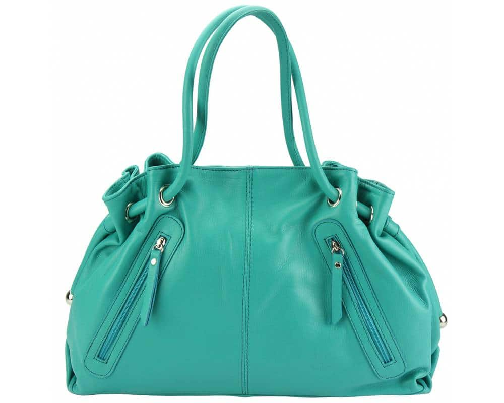 turquoise shoulder bag Juliana from italy