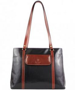 black brown shoulder bag Nadea for women