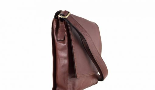 cross body bag Guglielmo from genuine leather colour brown buy for women from italy