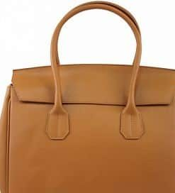 tan woman handbag from italy